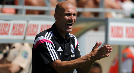 Zidane 'not qualified' to be Real Madrid coach
