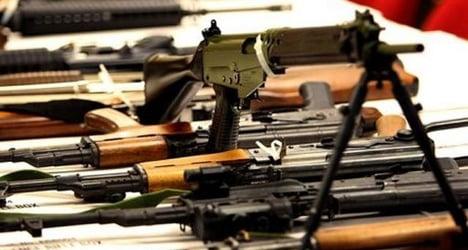 Weapons stockpile found in home near Interlaken