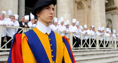 Life as an elite Vatican Swiss Guard