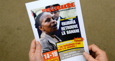 Far-right mag's racial slur on minister nets fine