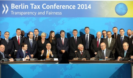 States sign Berlin deal to fight tax evasion