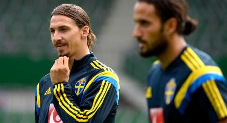Sweden's Zlatan tipped for Golden Ball prize