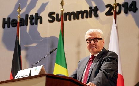 Steinmeier wants epidemic task force