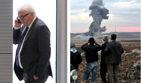 Steinmeier challenges UN over Isis gas reports