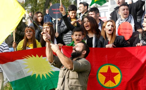 PKK: banned in Germany, allies in Iraq
