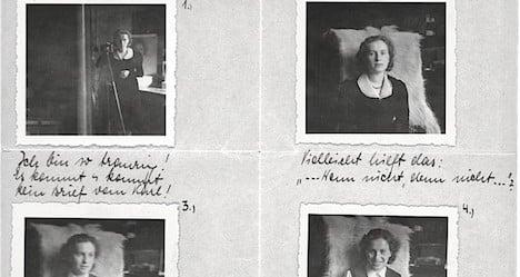 The girlfriend left behind in Vienna in 1939
