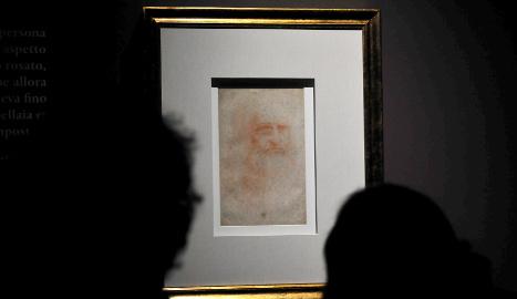 Da Vinci's self-portrait in rare public show