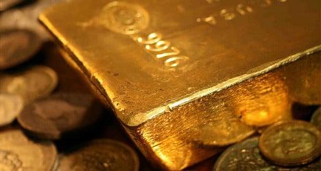 Gold reserves boost Swiss national profits
