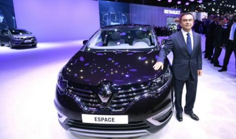 Renault chief sees 2015 auto market slowdown