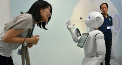 Nestlé to 'employ' robot clerks in Japan stores