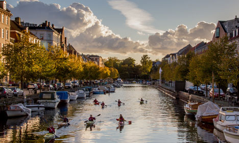 Denmark gets sunny end to near-record October