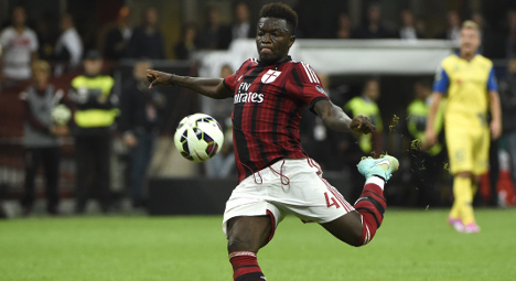 Verona sanctioned over Muntari racism abuse