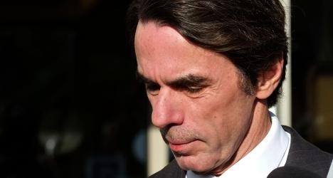 Aznar admits to multi-million Gaddafi deal
