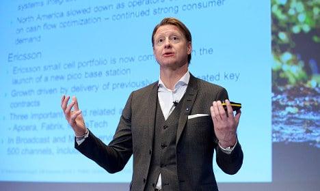 American sales squeeze Ericsson profits