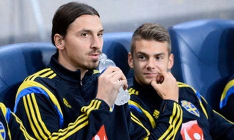 Sweden's star striker Zlatan 'recovering well'