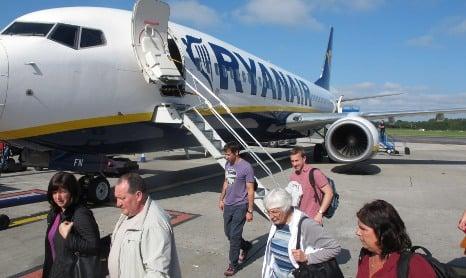 Ryanair halts flights from Sweden's Malmö