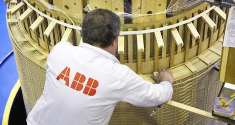 ABB's orders rise but third-quarter profits dip