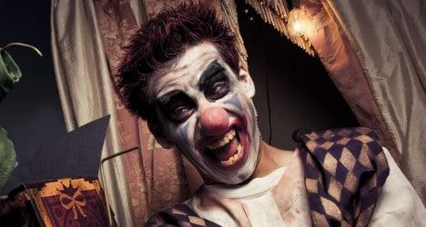 Clown panic in France: Fake joker given jail term