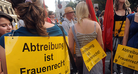 Majority of Austrian women support abortion