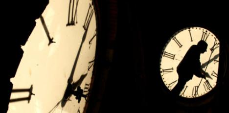Clocks go back for Swedish winter time