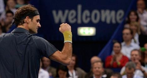 Federer poised for home-town glory in Basel