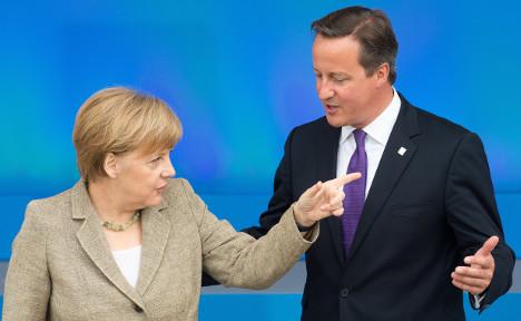 Merkel: I won't support UK on EU migration