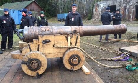 Vasa ship cannon blasted in Sweden