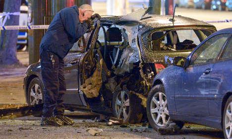 'Car bomb' shakes central Malmö