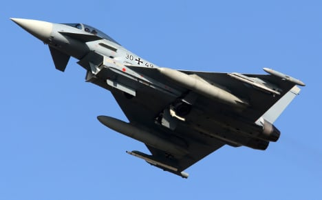 German jets scrambled to face Russian planes