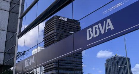 Spanish bank BBVA says quarterly profits triple