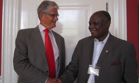 Denmark pressures Swaziland on free rights
