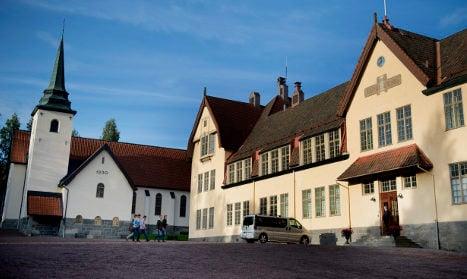 Rape claims at elite Swedish boarding school