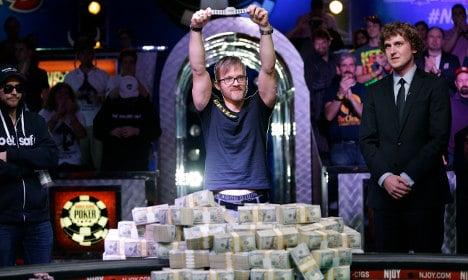 Swede wins Poker World Series in Las Vegas