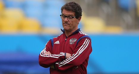 Russia 'too broke' to pay football coach Capello