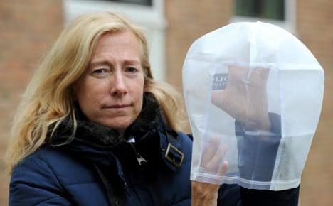 Spit hoods get baptism of saliva in Bremen