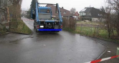 Truck driver convicted over Aargau tot's death