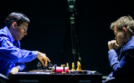 World Chess Champs: Draw for marathon men