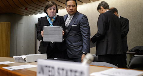 US admits in Geneva to 'crossing the line'