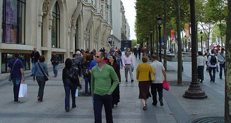 Paris has five of Europe's priciest shopping streets