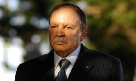 Algeria's Bouteflika 'hospitalized in France'