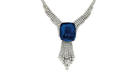 Sapphire sets world record at Geneva auction