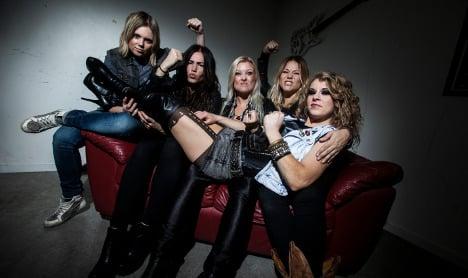 Irish woman thunders into Swedish rock band