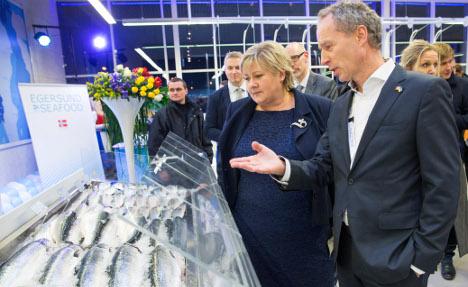 Solberg in Ukraine: 'No to corrupt deals'