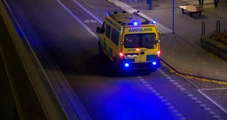 Six injured after bus and car collide