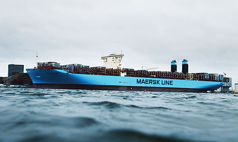 Maersk profit boosted by higher freight rates