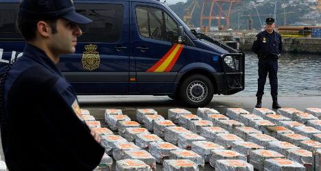 Cocaine seizures up 29 percent in 2013
