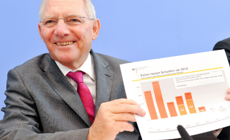 Germany agrees in-the-black budget for 2015