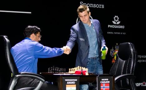 World Chess Champs: Carlsen draws game 4