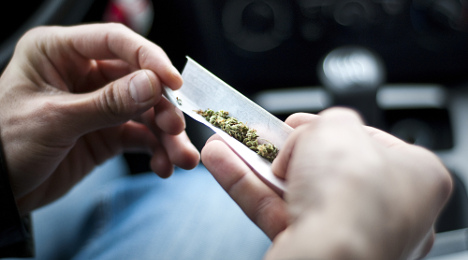 Baby in French town swallows dad's cannabis