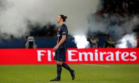 Zlatan returns from heel injury in PSG win